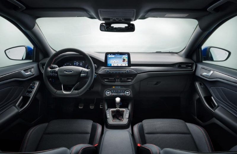 2020 Ford Electric SUV Interior features