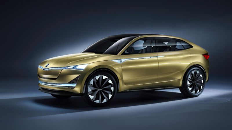 2020 Skoda Vision RS Features & Equipment