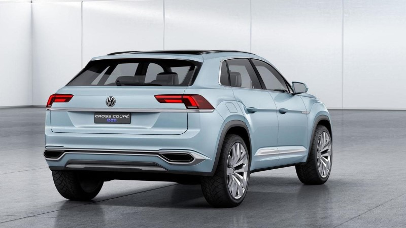 2020 VW Tiguan Coupe - Upcoming SUV Coupe