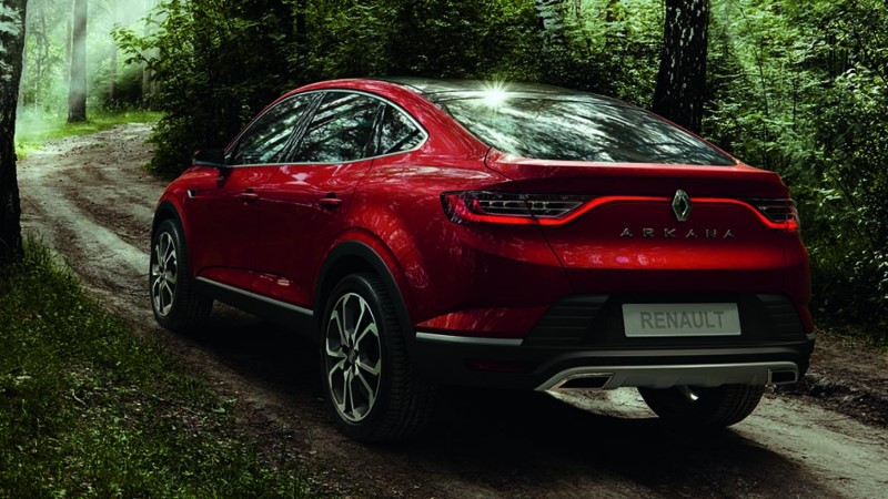 Renault Arkana Specs - Upcoming SUV Coupe 2020