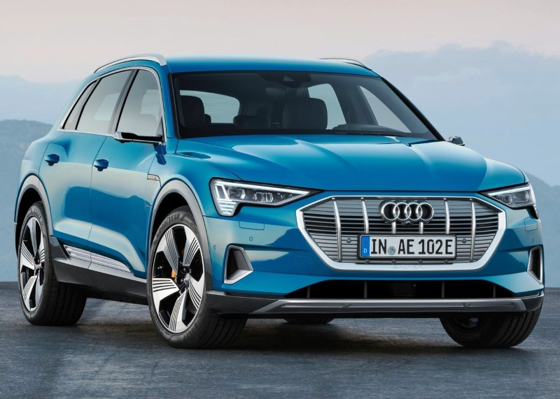 2020 Audi E-Tron Battery Range & Charging Time