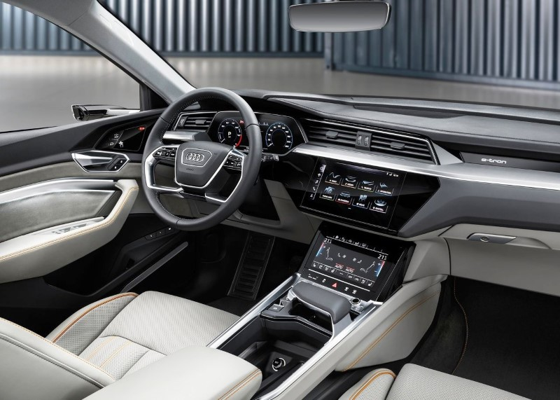2020 Audi E-Tron Interior Colors