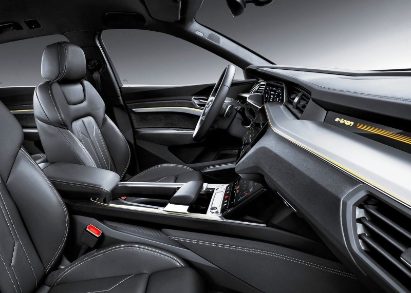 2020 Audi E-Tron Interior Volume