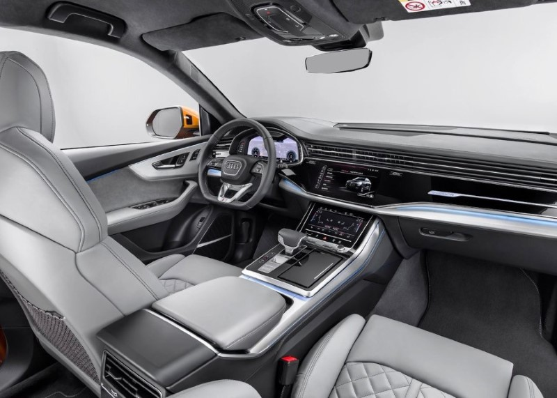 2020 Audi Q8 Inside Features & Safety