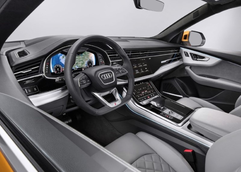 2020 Audi Q8 Interior Cockpit Features