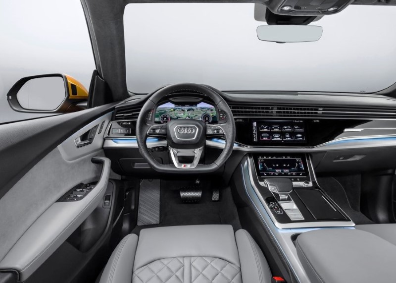 2020 Audi Q8 Interior Photos