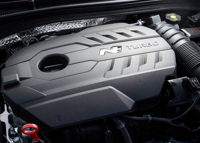 2020 Hyundai i30 Fastback N Turbo Engine