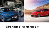 2020 Ford Fiesta ST vs VW Polo GTI - Exterior