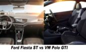 2020 Ford Fiesta ST vs VW Polo GTI - Interior & Equipment