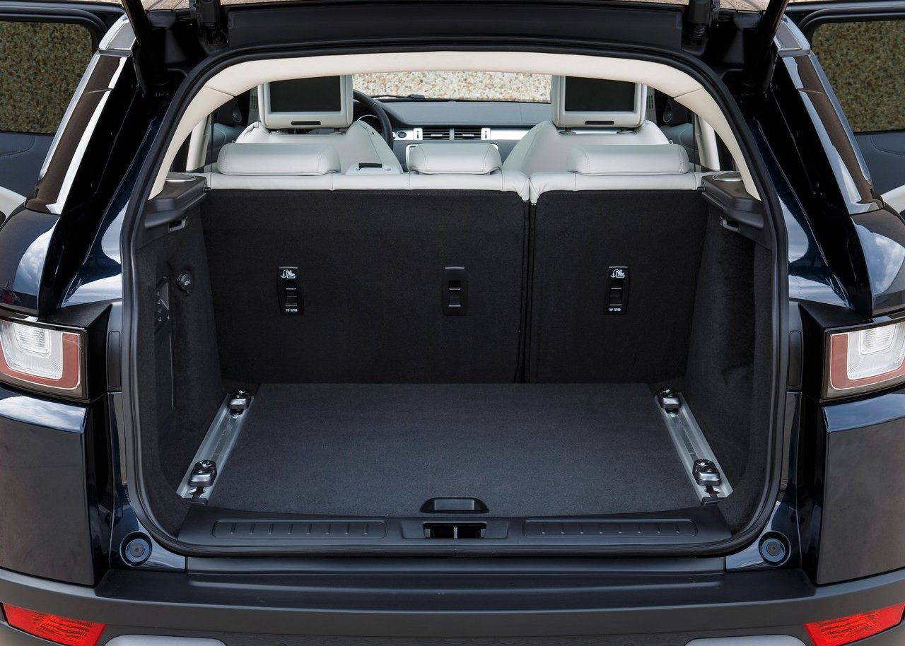 Range Rover Evoque 2020 Model Trunk Capacity