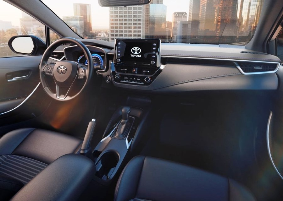 2020 Toyota Corolla Sedan Interior Features