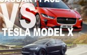 2019 Jaguar I-Pace VS Tesla Model X