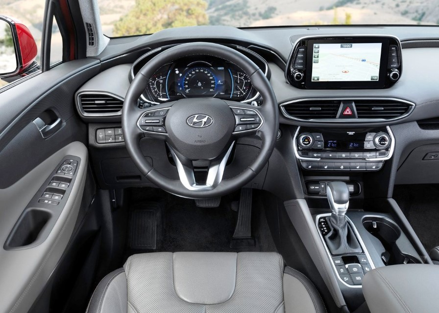 2020 Hyundai Santa Fe Price & Equipment
