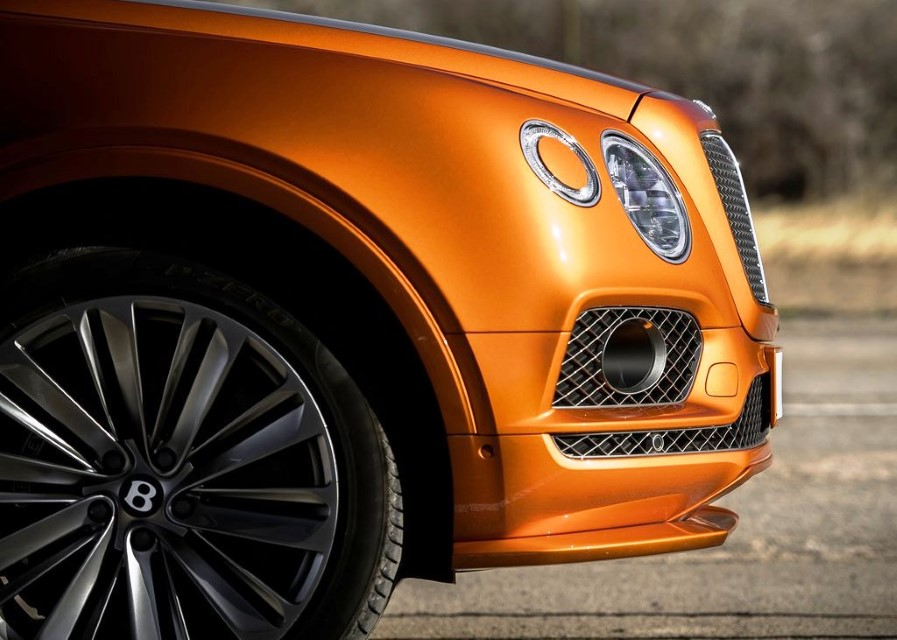 2020 Bentley Bentayga Speed 22 inch Wheel Size