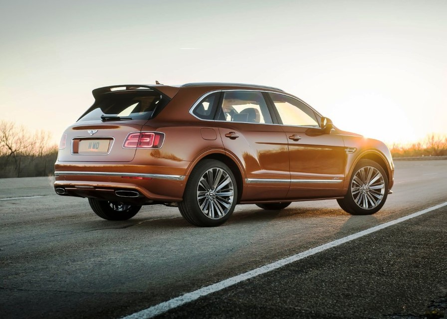 2020 Bentley Bentayga Speed Price in USA