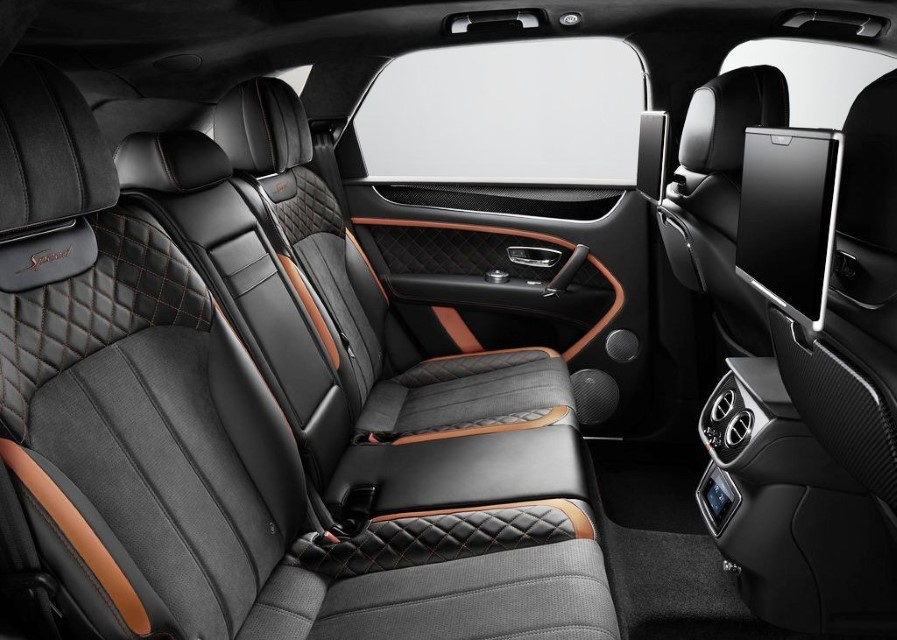 2020 Bentley Bentayga Speed Seat Capacity