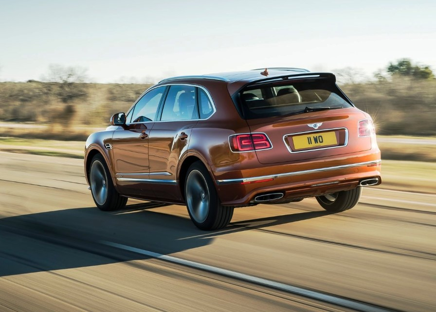 2020 Bentley Bentayga Speed Specs
