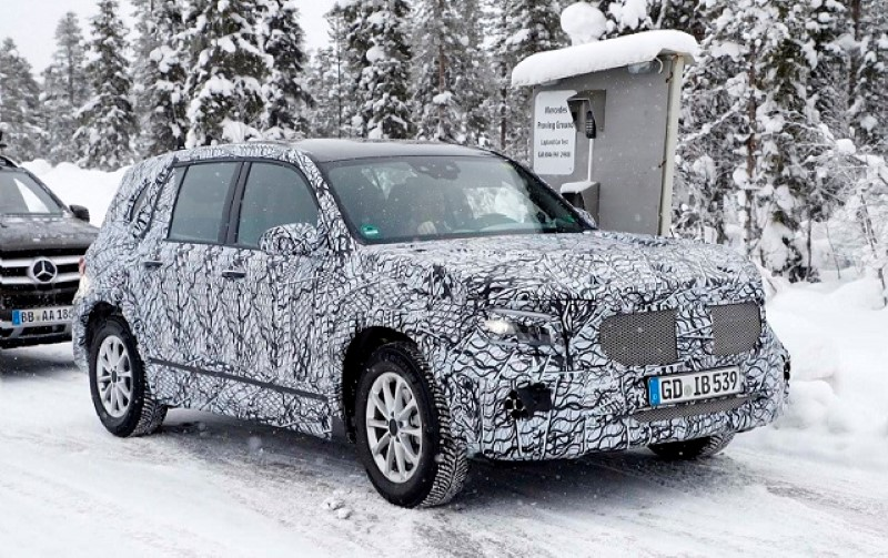 New Mercedes GLB Spy Pictures - 2020 Mercedes Cars Model