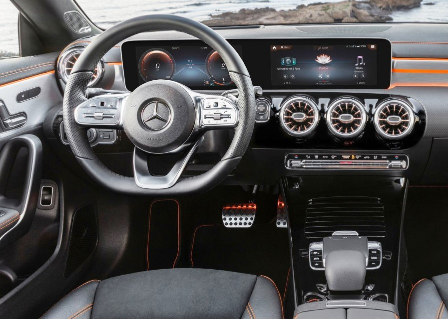 2020 Mercedes CLA Interior WIth MBUX 2.0
