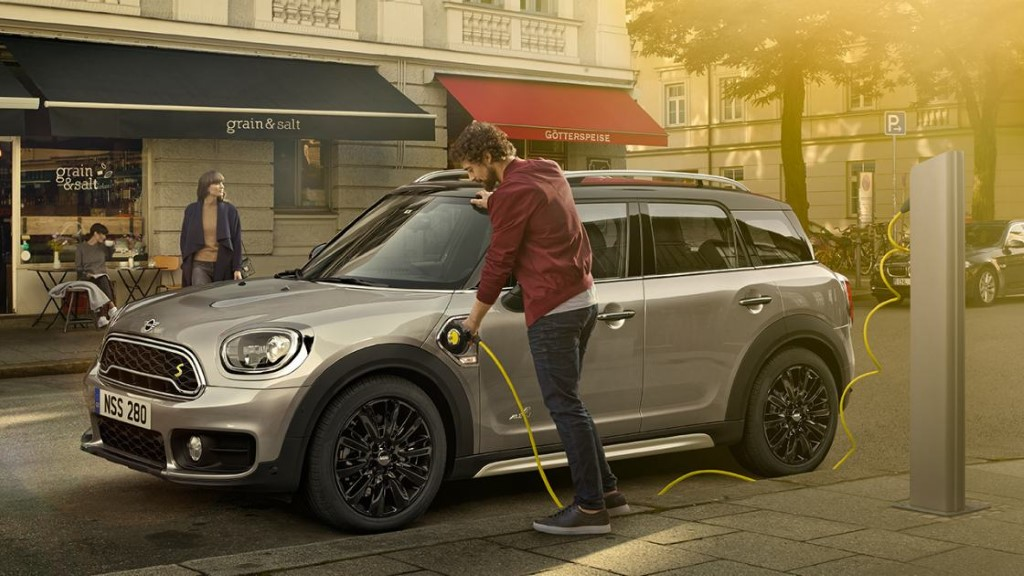 New MINI Countryman Plug-in Hybrid MPG