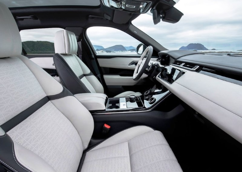 2020 Range Rover Velar SVR Interior Changes