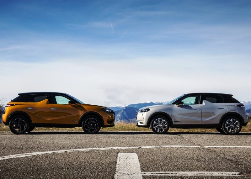 2020 DS 3 Crossback E-Tense Colors
